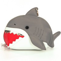 Betsey Johnson Shark Cosmetic Bag | Dillards