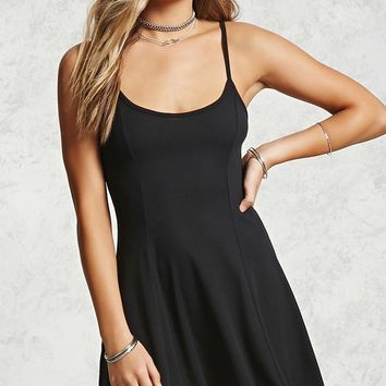 Ribbed Knit Cami Dress