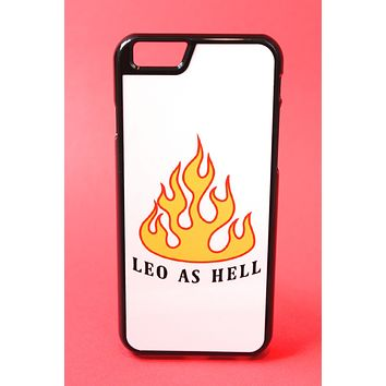Leo as Hell Phone Case