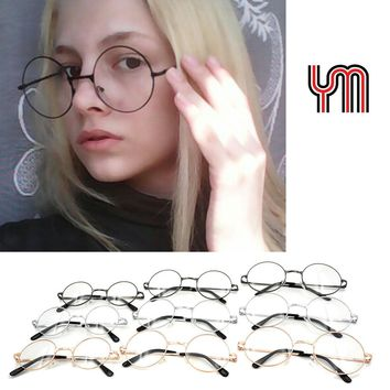 YM Kids Vintage Round Sunglasses Women Men Steampunk Glasses Gradient Lenses Fashion Goggles Hippie Shades Lennon Ozzy 030-263B