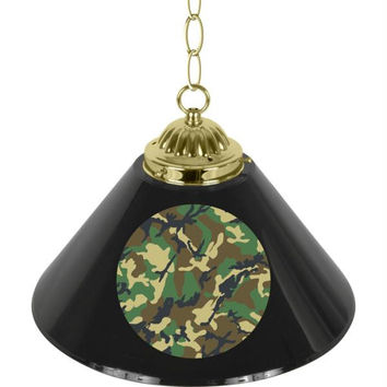 Hunt Camo Single Shade Bar Lamp - 14 inch