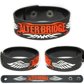 ALTER BRIDGE Rubber Bracelet Wristband Fortress Myles Kennedy