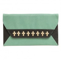 Colorblock Cross Clutch | GYPSY WARRIOR