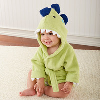 Splash-a-saurus Dinosaur Hooded Spa Robe