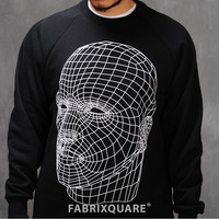 Digital Head Print Sweatshirt