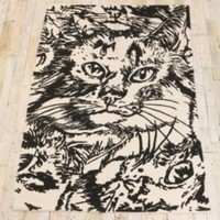 UrbanOutfitters.com > 4x6 Cats Printed Rug