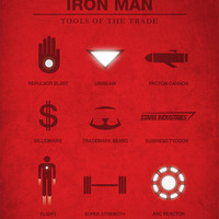 Iron Man Poster - Tools of the Trade