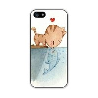Danielcase-TPU case for iPhone 5,for iPhone 5S personalized case cover-5 colors available