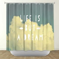 Rachel Burbee's 'Life is But a Dream' | Artistic Shower Curtains