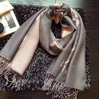 LV Fashion Casual Woman Cashmere Scarf Shawl Silk Scarf G-XLL-WJ