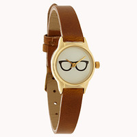 Playful Glasses Watch