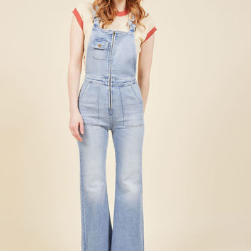 Founder of Flair Denim Overalls