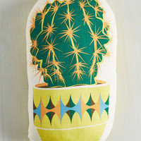 Dorm Decor Prickly Paradox Pillow by ModCloth