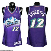 ONETOW Utah Jazz John Stockton #12 jerseys
