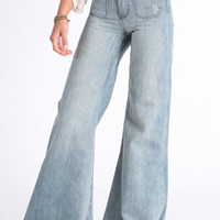 High Rise Denim Flares By One Teaspoon - $125.00 : ThreadSence.com, Free-spirited fashion for the indie-inspired lifestyle
