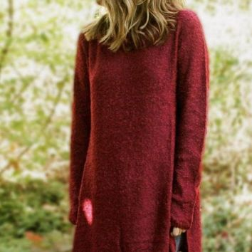 Reno Burgundy Sweater - FINAL SALE