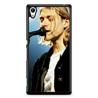 Kurt Cobain Singing Xperia Z4 Case