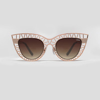 Steel Cat Shades- Gold by Quay