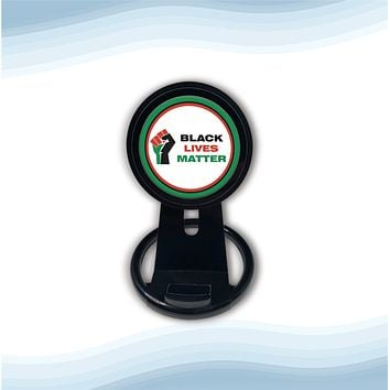 Black lives matter Universal Wireless Charger with Bult in Stand