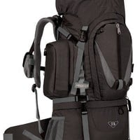 High Sierra Classic Series 59501 Appalachian 75 Internal Frame Pack Black 34x14.25x10.25 Inches 4580 Cubic Inches 75 Liters