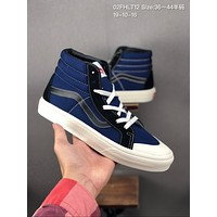 Vans OG Sk8-Hi Slim cheap mens and womens Fashion Canvas Flats Sneakers Sport Shoes