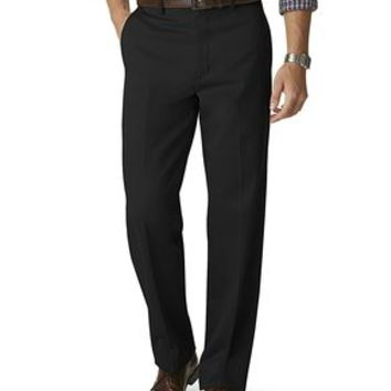 Dockers Signature Khaki Pants, Relaxed Fit - Black - Men's