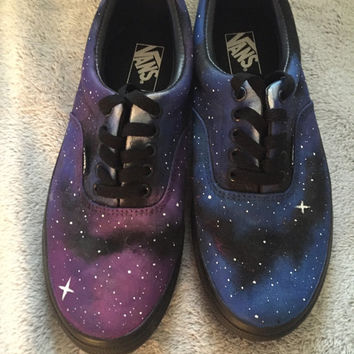 Hand Painted Galaxy Vans