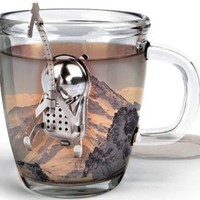Cliff the Climber Tea Infuser and Dip Tray - $10