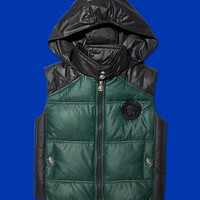 Versace - Hooded down gilet