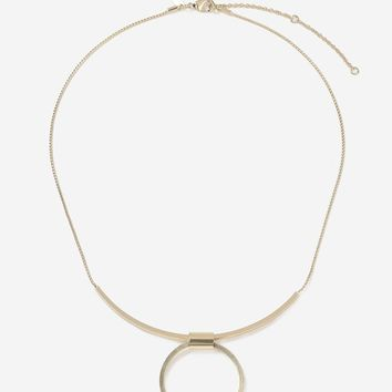 Circle & Bar Necklace - Shop All Accessories - Bags & Accessories