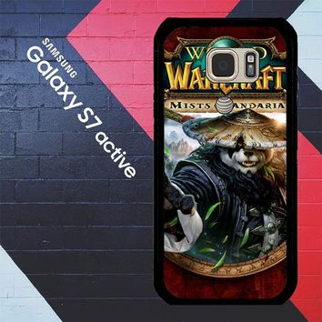 World Of Warcraft Guardian Druid Mists Of Pandaria Z0652 Samsung Galaxy S7 Active Case