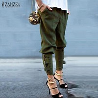 Leisure Army Green Pants