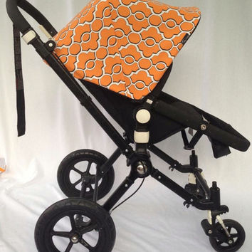 Sample Sale! Orange Replacement Canopy or Hood for Bugaboo Cameleon or Cameleon3. 25% Off