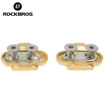 ROCKBROS Bicycle Accessories Premium Cleats For MTB Bike Cycling Pedals Crank Eggbeater Candy Smarty Acid Mallet