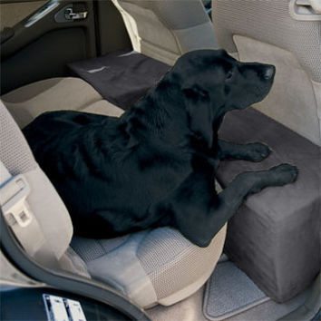 Dog Travel Accessory / Solid Foam Microfiber Backseat Extender -- Orvis