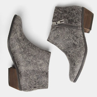 Fairchild Embossed Bootie