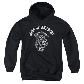 Sons Of Anarchy - Soa Reaper Youth Pull Over Hoodie
