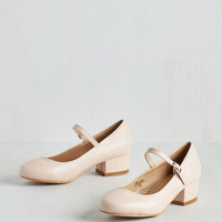 Scholastic From the Astound Up Heel in Petal by ModCloth