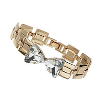 Premium Link Bow Bracelet - Jewelry  - Bags & Accessories