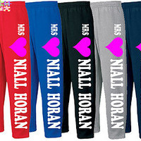 MRS niall horan SWEATPANTS ONE DIRECTION sweatpants harRy styles louis zayn  1D