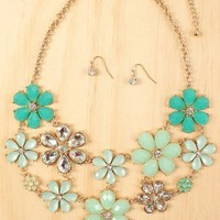 Oh Floral Galore Necklace
