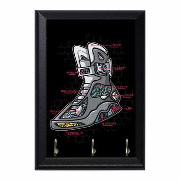 Nike Mags Anatomy Decorative Wall Plaque Key Holder Hanger