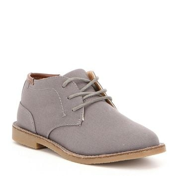 Kenneth Cole New York Boys' Real Deal Fabric Lace Up Chukka Boot | Dillards