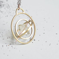 the Gyroscope Spin necklace
