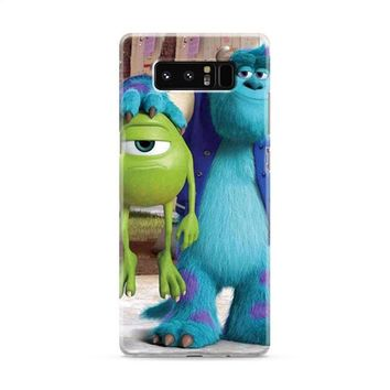 Monsters Inc sulley holding mike Samsung Galaxy Note 8 Case
