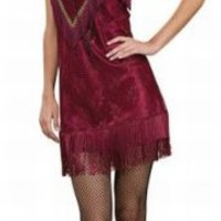 Roaring 20s Flapper Dancer Costume Dress