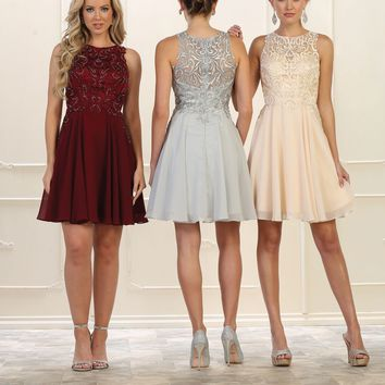 Prom Short Homecoming Plus Size Formal Dress