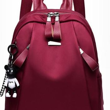 Student Backpack Children 2018 New Backpack for Women Fashion Backpack Oxford Cloth Waterproof Bag Student Backpack AT_49_3