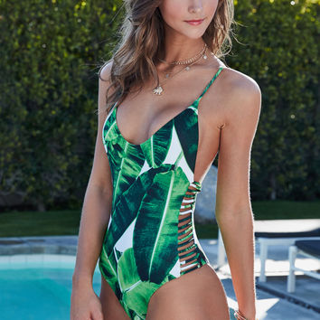Stone Fox Hermosa Strappy One Piece Swimsuit at PacSun.com