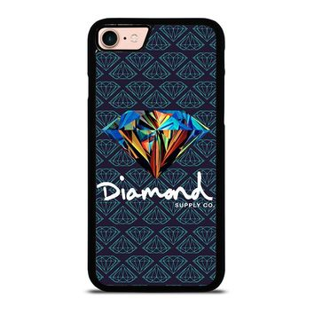 DIAMOND SUPPLY CO iPhone 8 Case Cover